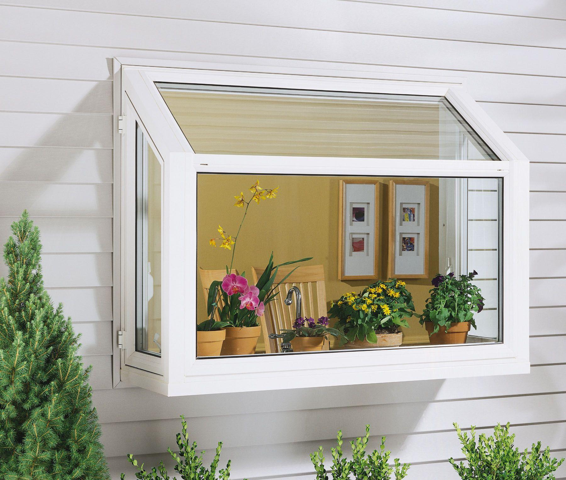 Kitchen Garden Greenhouse Window: Garden Window Replacement Prices & Materials